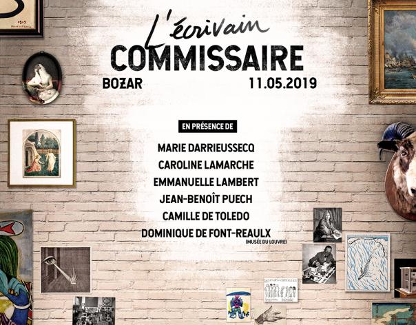L'écrivain commissaire – Journée d'études des RIMELL  – 11 mai 2019 – Bruxelles (BOZAR)
