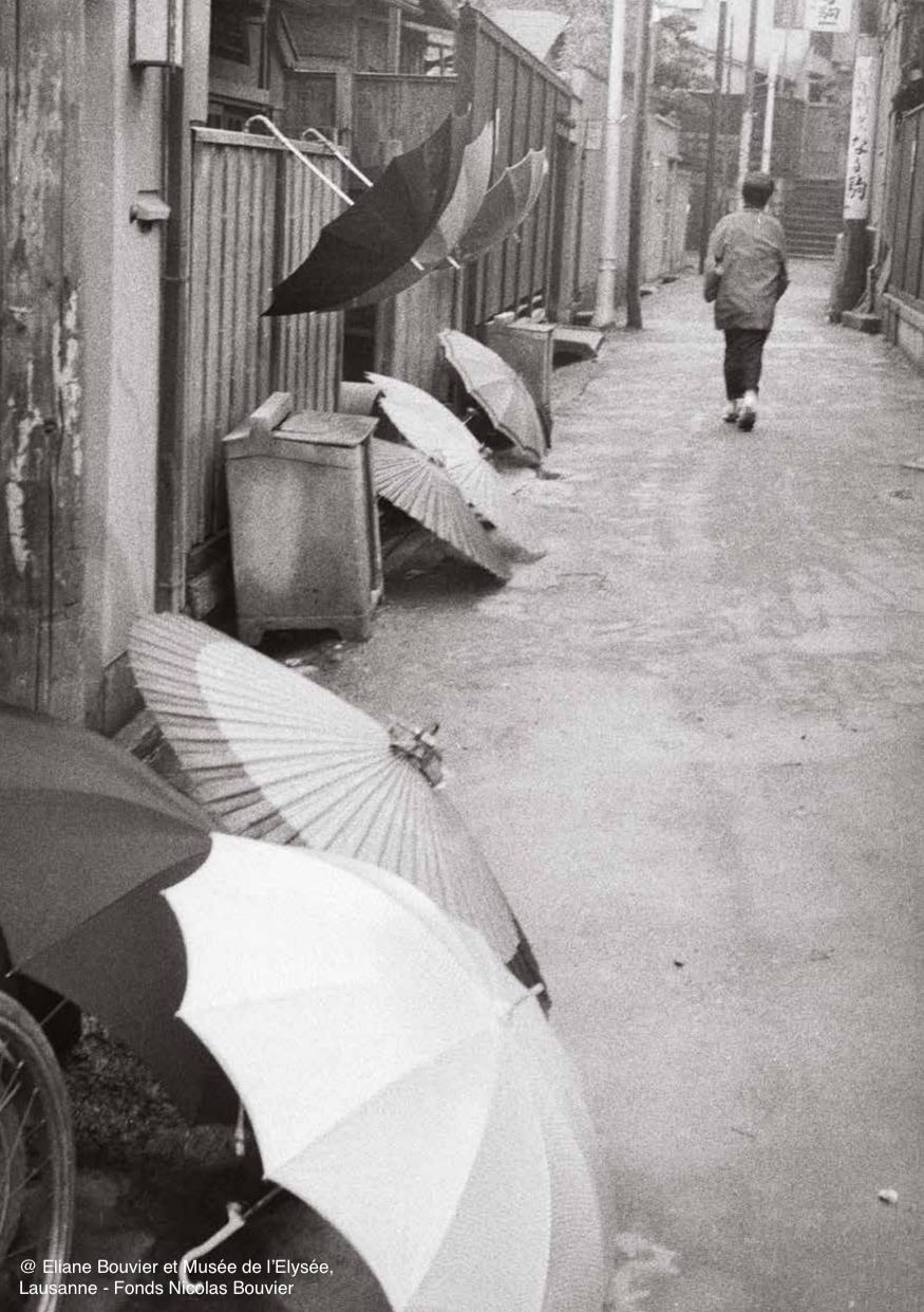 Nicolas Bouvier. Déambulations japonaises