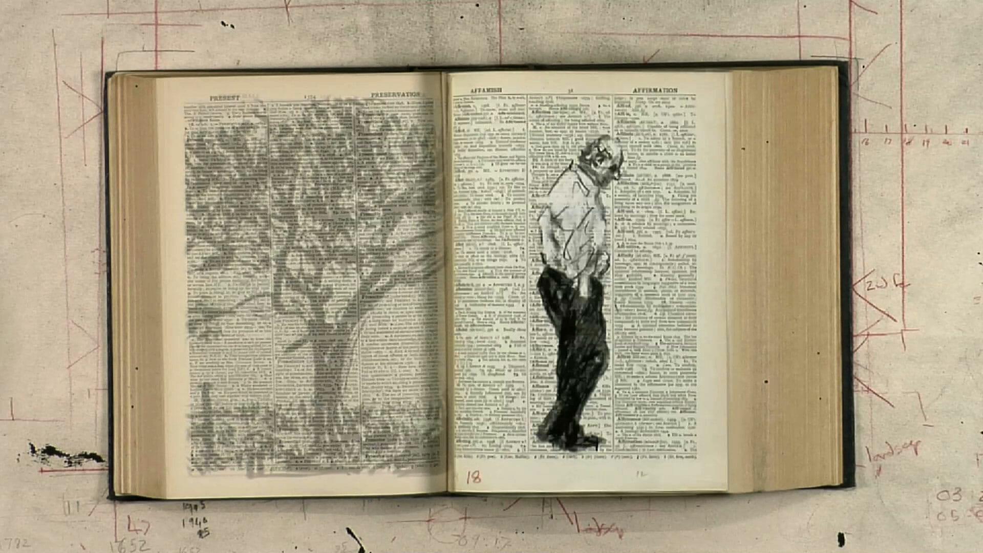 William Kentridge – Second-hand Reading