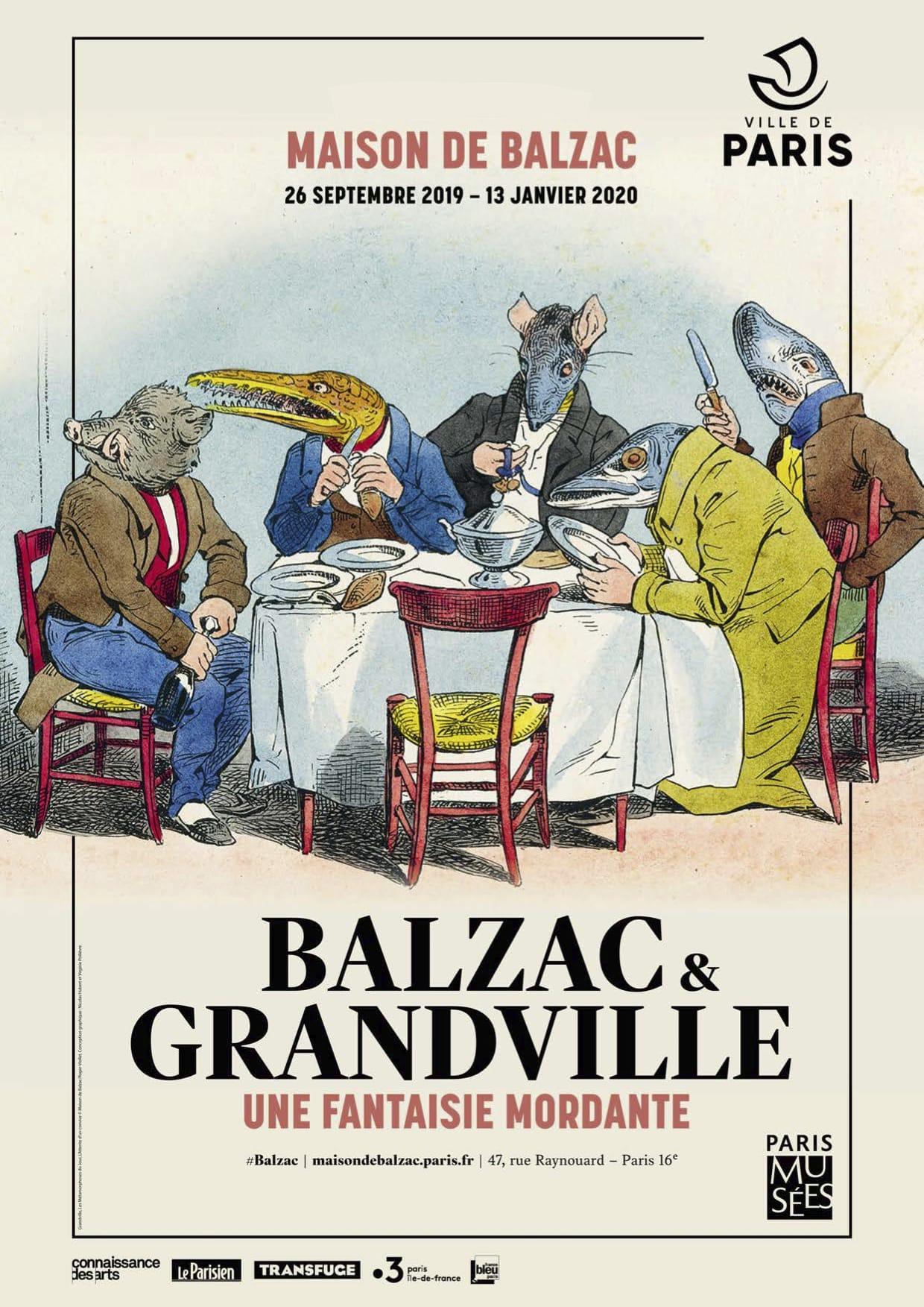 Balzac et Grandville : une fantaisie mordante