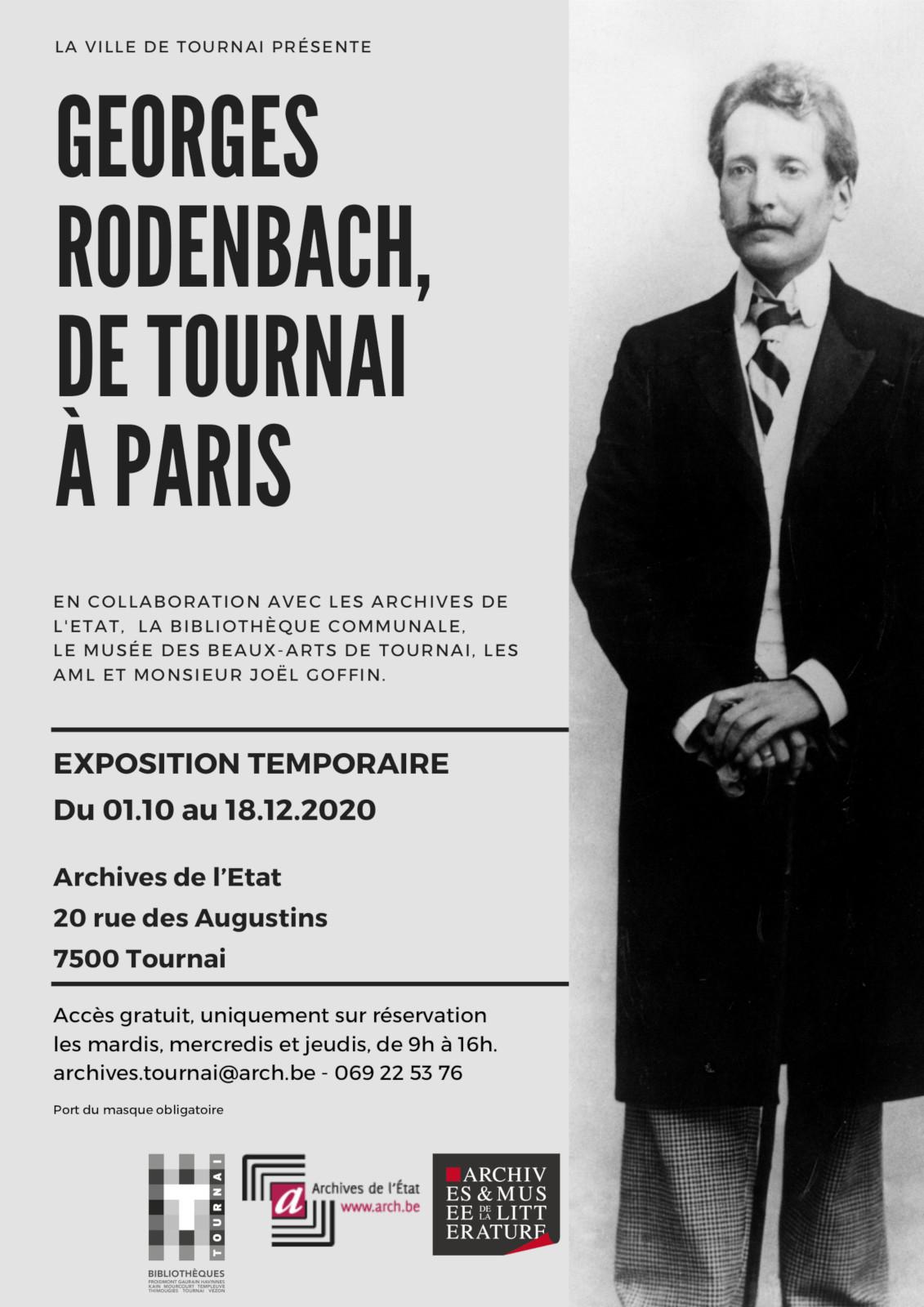 Georges Rodenbach, de Tournai à Paris