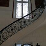 Escalier Hôtel particulier Cornette de Saint-Cyr