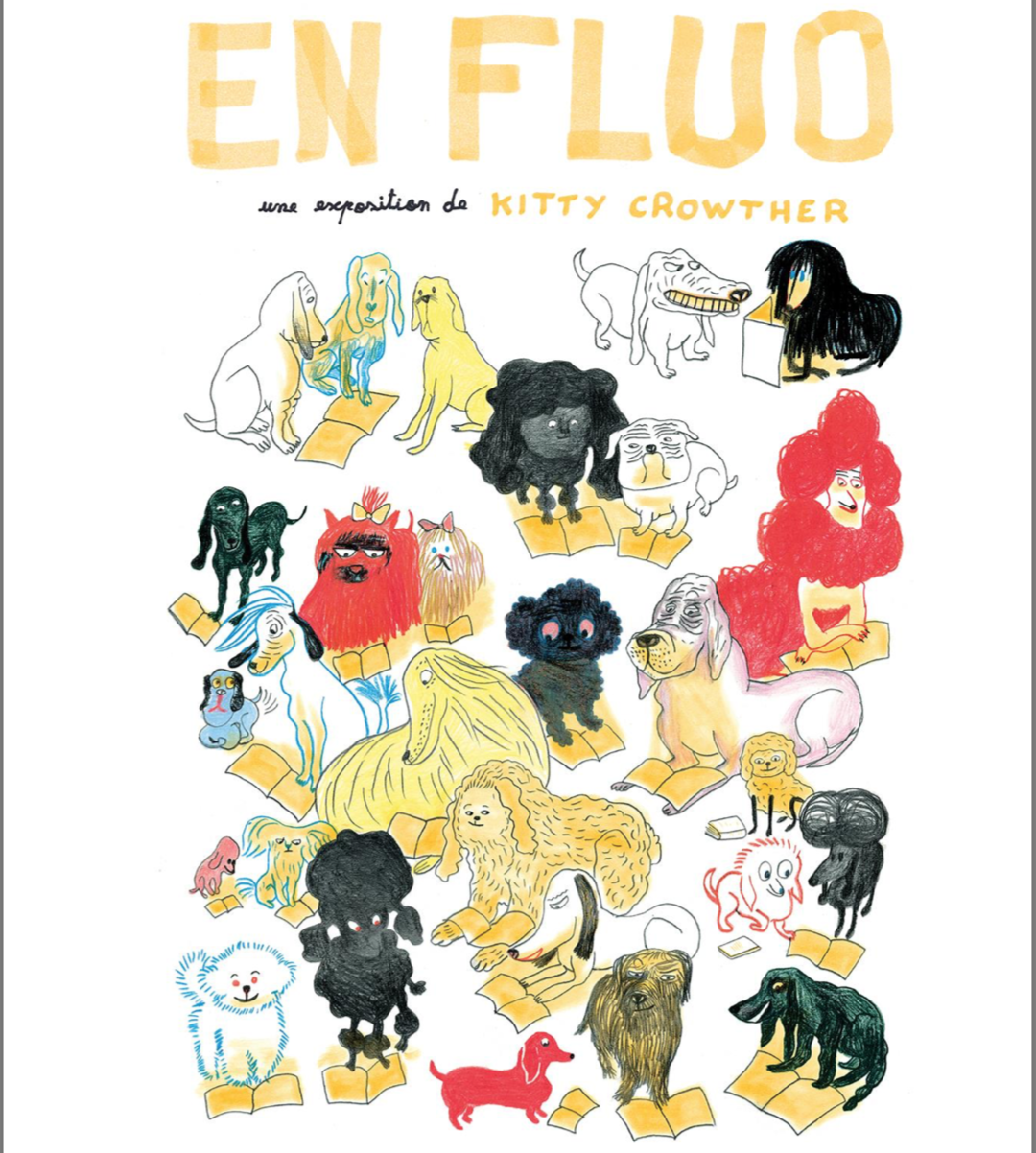 «EN FLUO» (KITTY CROWTHER)